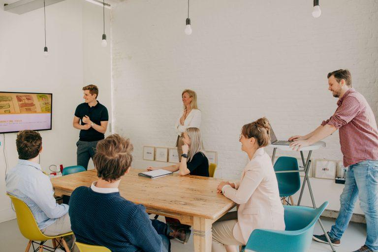 Marketing fizz- meeting room