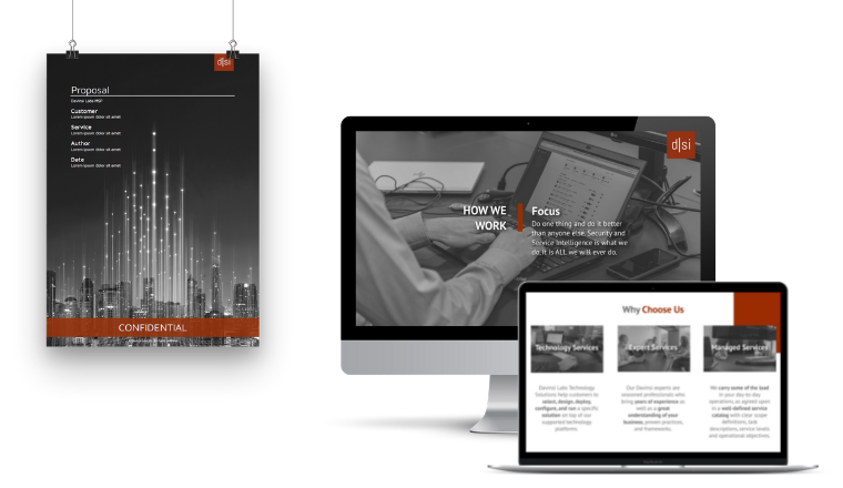 Davinsi Labs - Website design